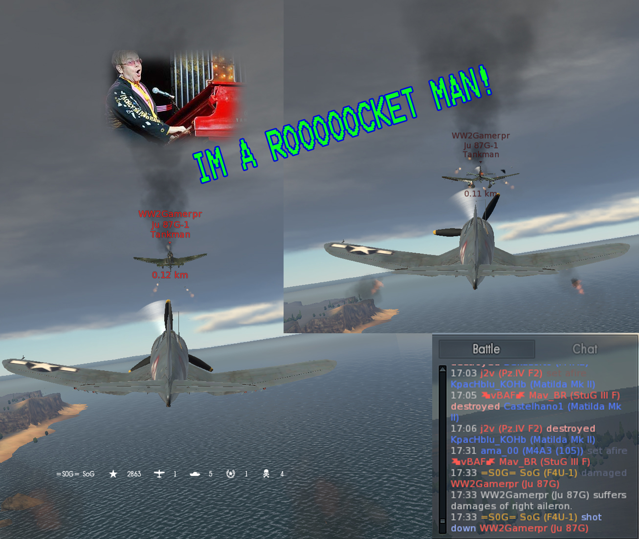 Stuka rocketed.jpg